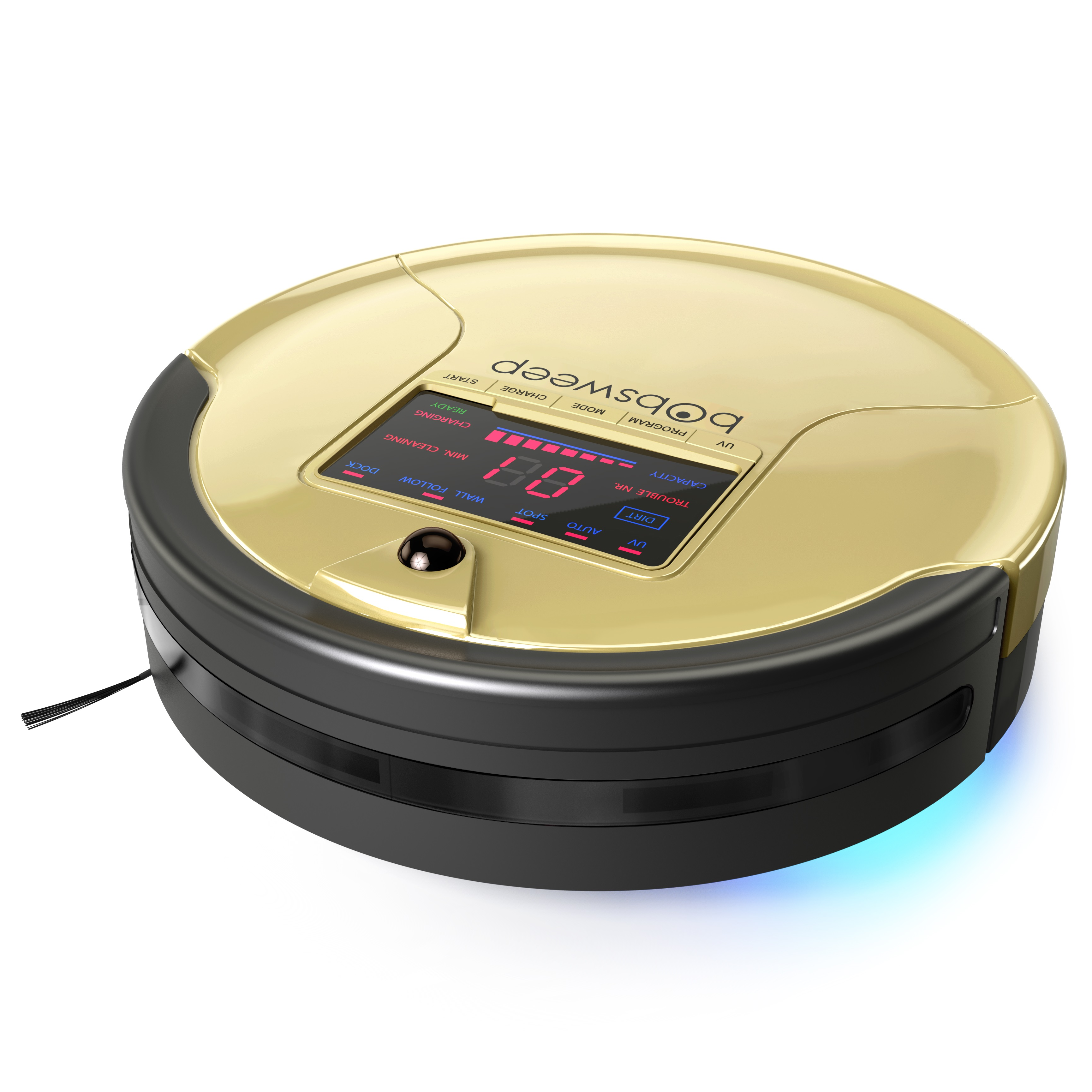 bObsweep PetHair Robotic Vacuum Cleaner and Mop, Champagne