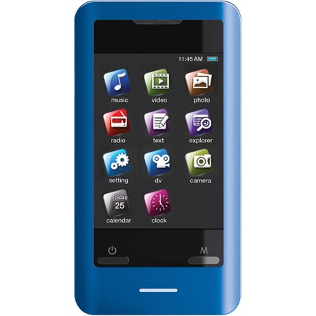 2 8 In Touchscreen 8gb Video Mp3 Player With Speaker And