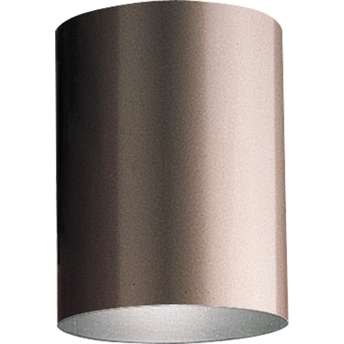 "Progress Lighting P5774 Cylinder 1 Light Flush Mount Outdoor Ceiling Fixture - 5"" Wide"