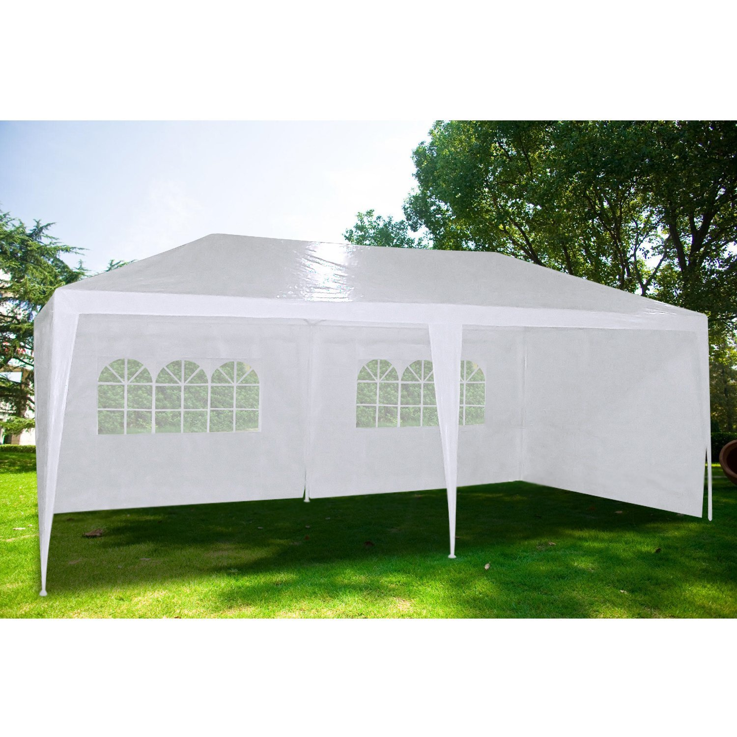 Quictent Heavy Duty Gazebo Wedding Party Tent BBQ Canopy with Side Walls (10