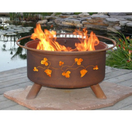 Outdoor Fire Pit by Patina Products - Grapevines