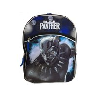 "(pack 2) Marvel's Black Panther 16"" Backpack with Bottle Holder by bulk buys"