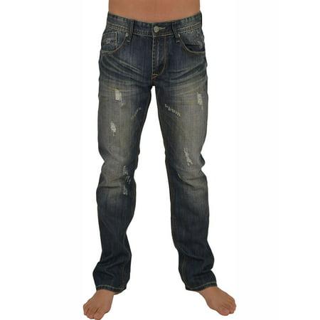StoneTouch Men's 13 oz Premium Denim Jeans-TT57SL-30x32-Blue