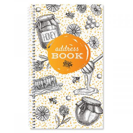 oh sweet honey lifetime address book 72 page soft cover telephone