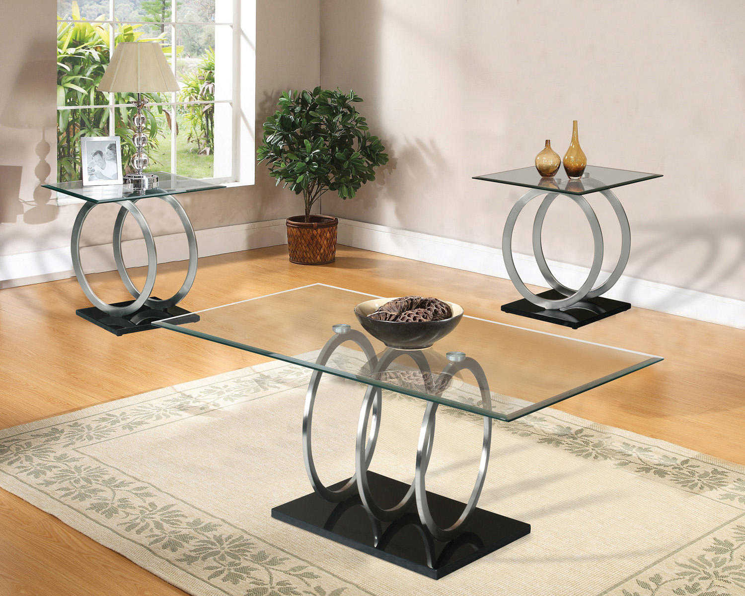 Home Source Cirque Cocktail Table by Home Source
