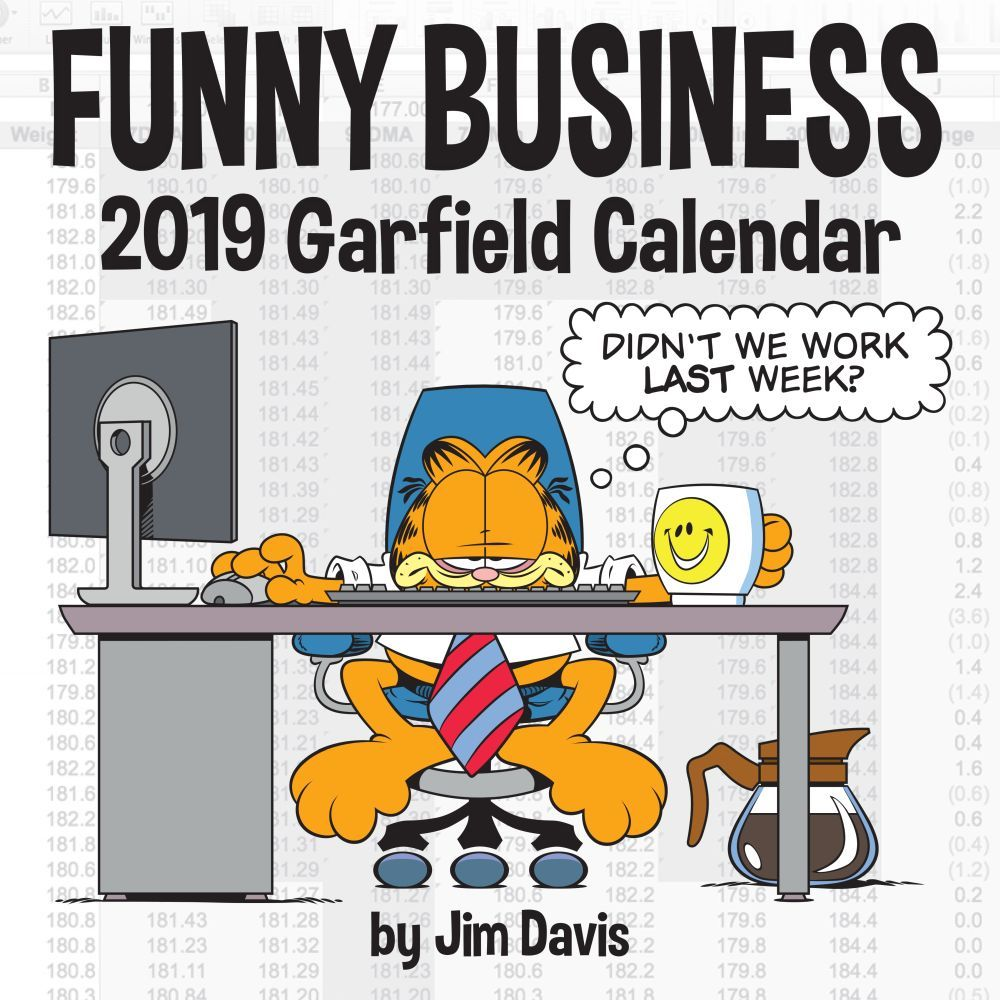 Garfield Funny Business 2019 Calendar