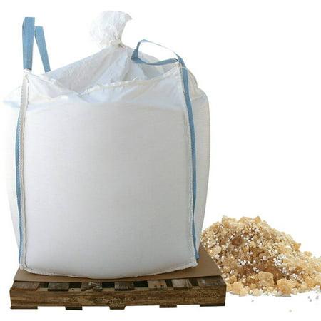 Bare Ground coated granular blend with Calcium Chloride pellets (Base UPC 0063227250512) Size 1000 - Based Pellets