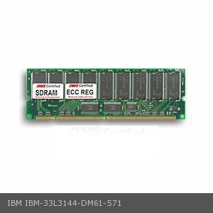 DMS Compatible/Replacement for IBM 33L3144 eserver xSeries 330 8654 256MB DMS Certified Memory PC133 32X72-7 ECC/Reg. 168 Pin  SDRAM DIMM - DMS