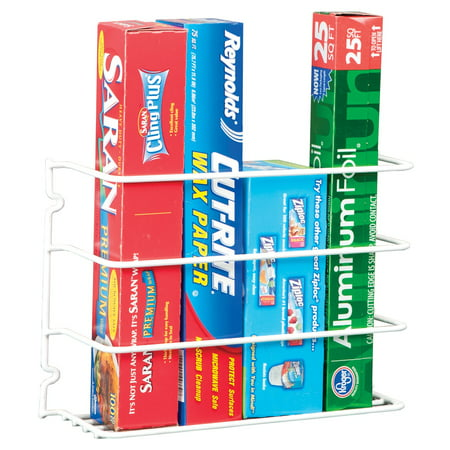 Kitchen Wrap Rack $3.99 at walmart online deal