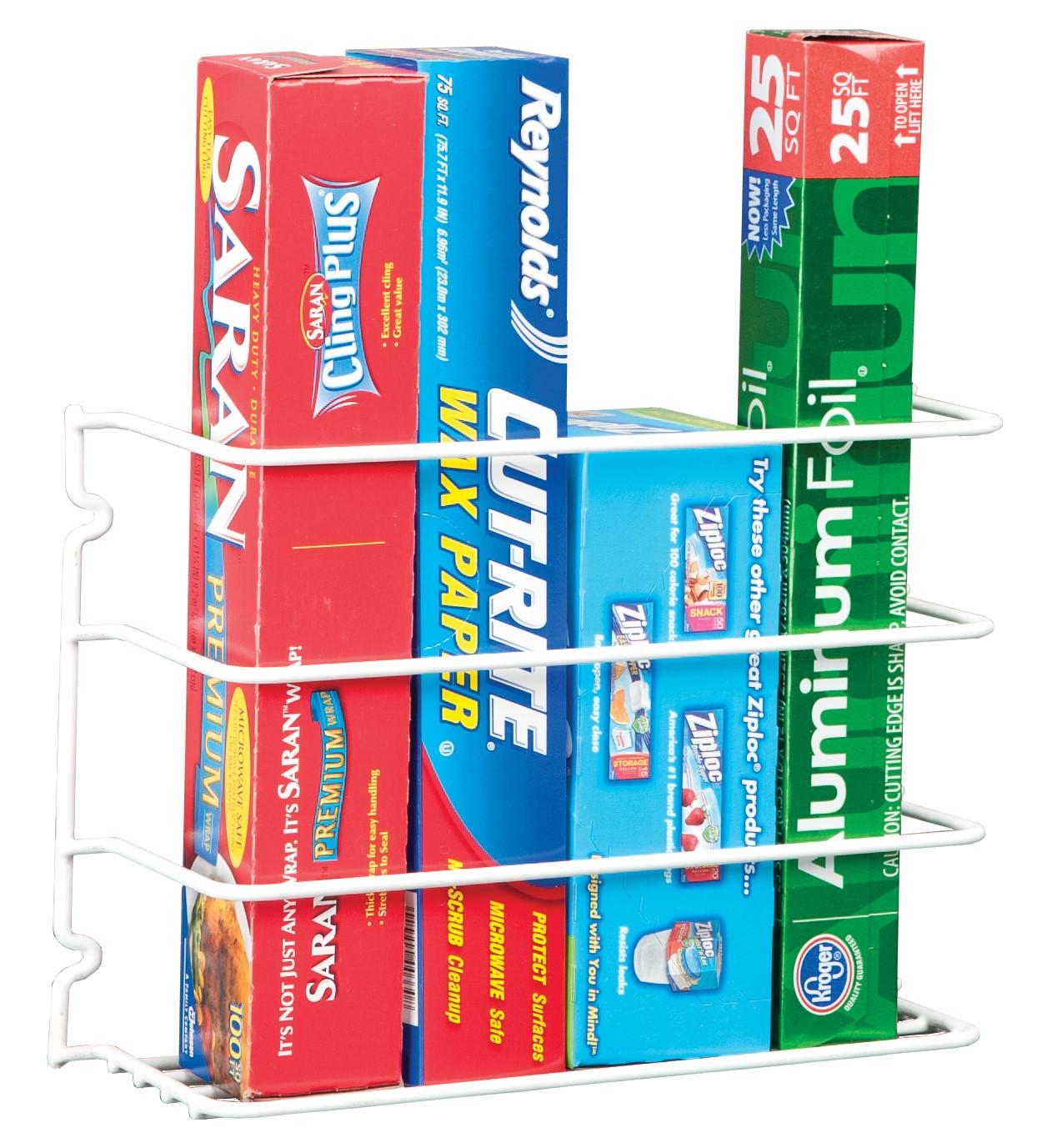 Kitchen Wrap Rack