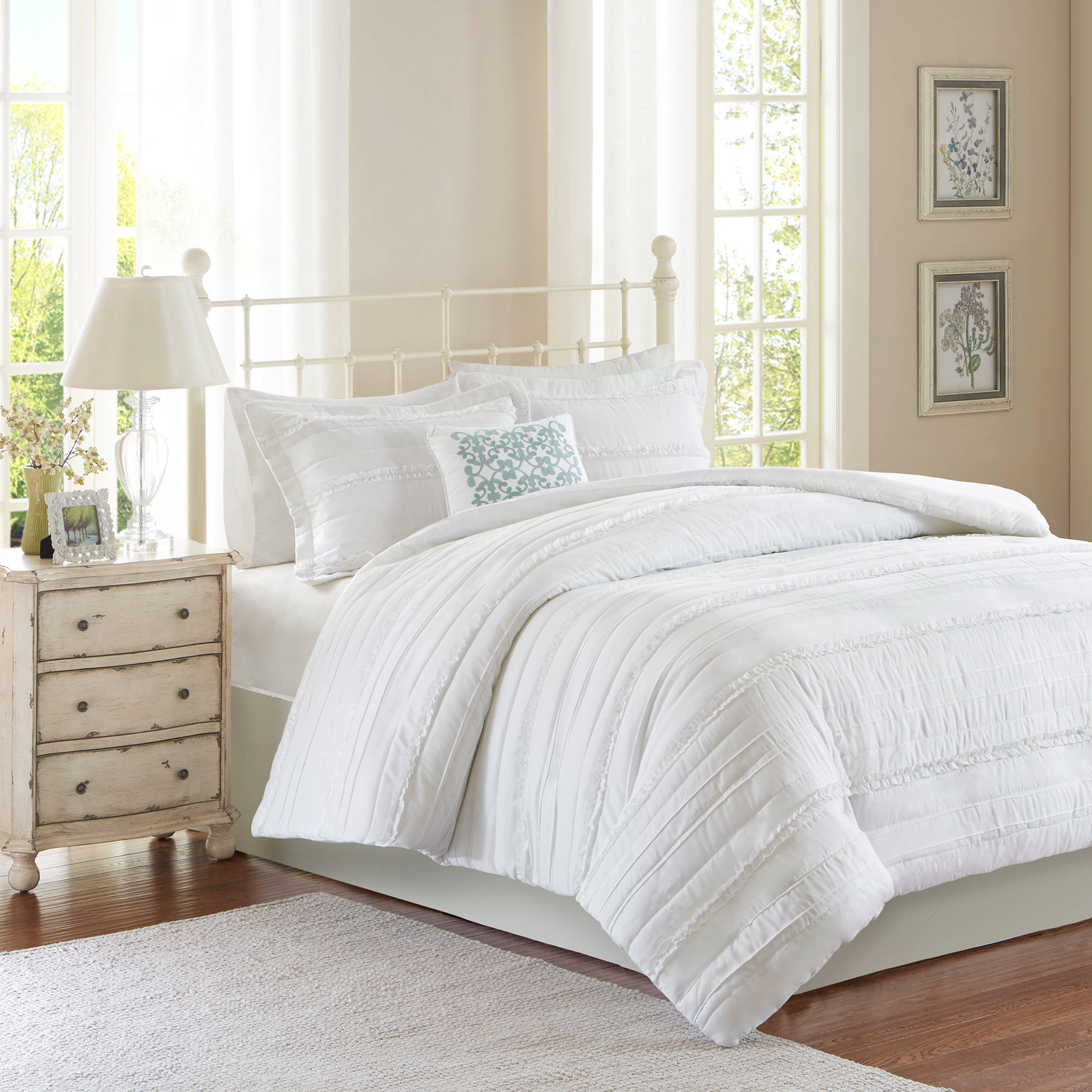 Home Essence Alexis 2-in-1 Duvet Set by E&E Co.