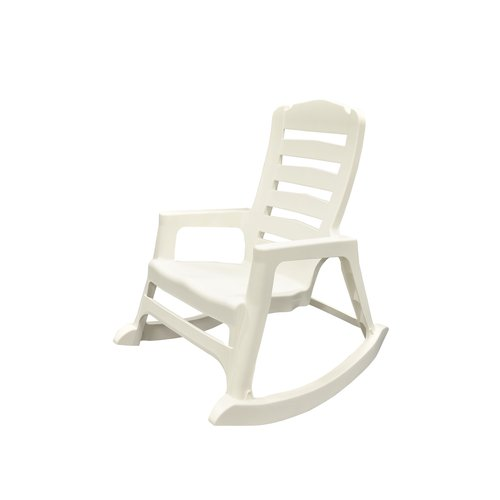 Adams Manufacturing Big Easy Rocking Chair, White