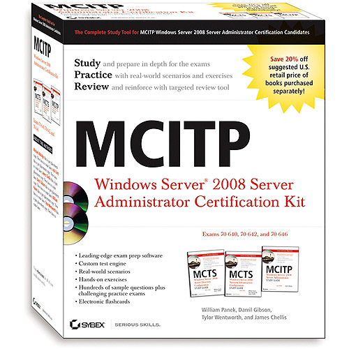 MCITP: Windows Server 2008 Server Administrator Certification Kit