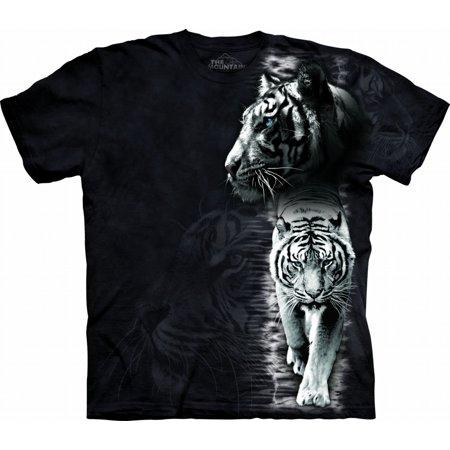 Men's White Tiger Stripe -