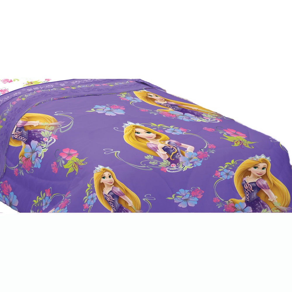 Disney Tangled Twin Comforter Rapunzel Princess Style Be