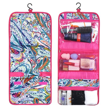 Zodaca Travel Hanging Cosmetic Toiletry Carry Bag Wash Organizer Storage ()