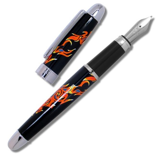 ACME Studios PMJ01F John Mclaughlin - Inner Mounting Flame Fountain Pen