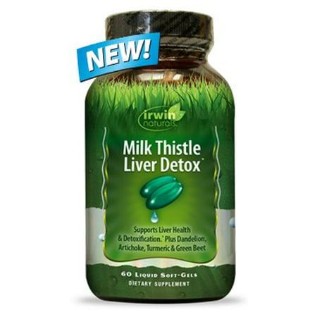 Irwin Naturals Milk Thistle Liver Detox  60 Ct