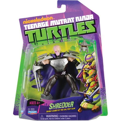 Teenage Mutant Ninja Turtles Shredder 2 Action Figure Walmart