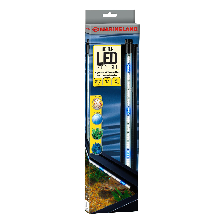 """Marineland LED System Hidden - White and Blue 17"""""""