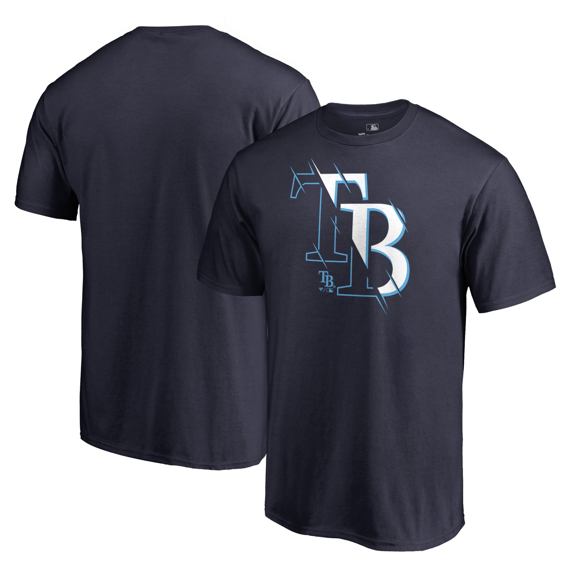 Tampa Bay Rays Fanatics Branded X-Ray T-Shirt - Navy