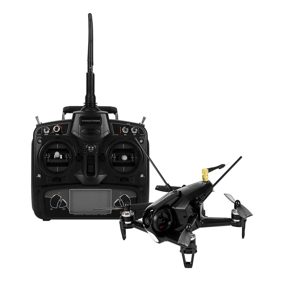 Top of the Line SWAGTRON SwagDrone 150-UP for 5.8G High-Speed FPV Drone Racing � 600TVL... by Swagtron