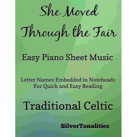 She Moved Through the Fair Easy Piano - eBook