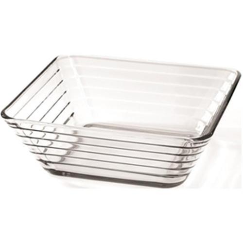 Anchor Hocking 97431 Clear Rio Crystal Glass Bowl, 6. 5 inch