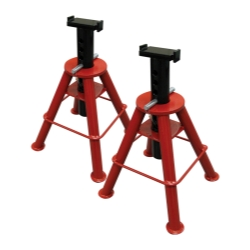 10 TON HIGH HEIGHT PIN TYPE JACK STANDS (PAIR)