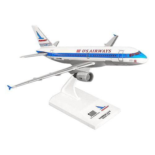 SkyMarks A319 US Airways Piedmont Tail Model Airplane
