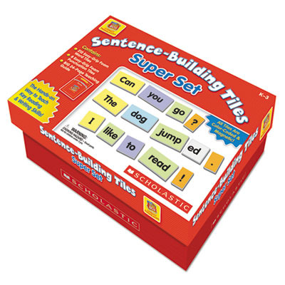 Sentence-Building Tiles Super Set SHSSC990927