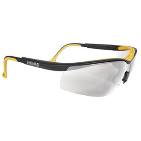 Dewalt High Perfomance Dual Injected Rubber Glasses with Fog Free Clear (Clear Lens Glasses Target)