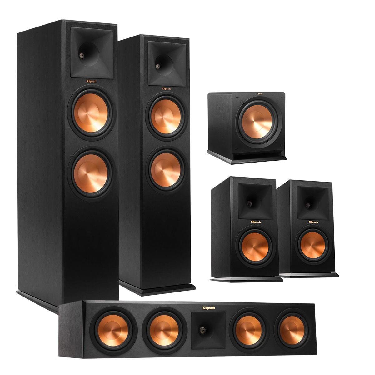 Klipsch 5.1 RP-280 Reference Premiere Speaker Package with R-112 Subwoofer (Ebony) by Klipsch