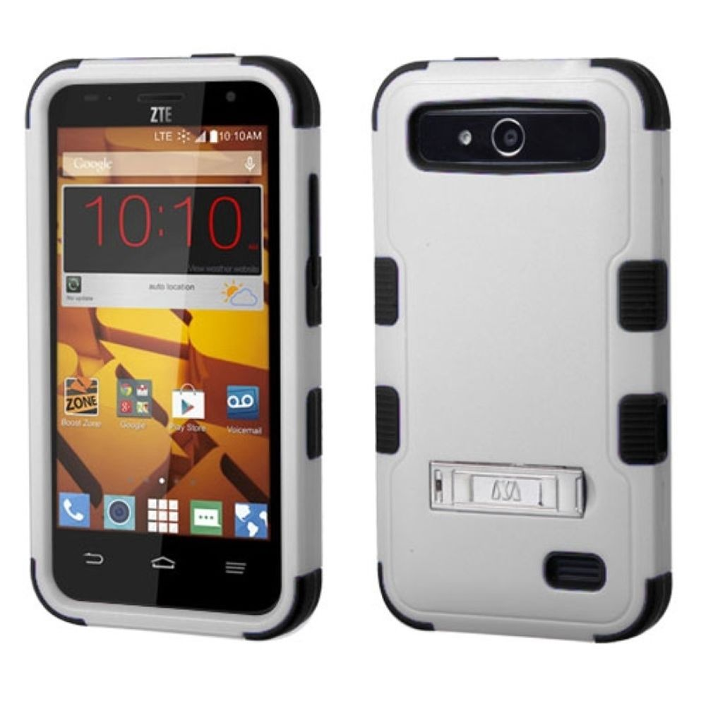 ZTE Speed Phone Case, ZTE Speed Case, by Insten Hard Dual Layer Rubber Coated Silicone Cover Case For ZTE Speed case cover - image 3 of 3