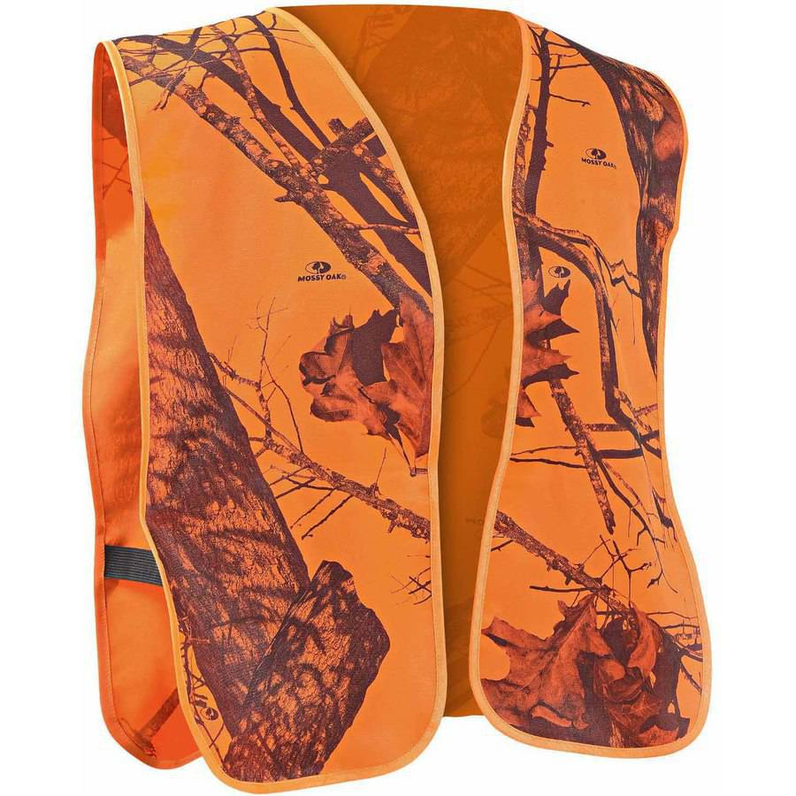 Mossy Oak Mo Blaze Safety Vest PW SHTG 5191 by Mossy Oak Hunting Accessories