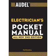 Audel Technical Trades: Audel Electrician's Pocket Manual (Paperback)