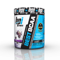 BPI Sports Best BCAA Powder, Grape, 30 Servings