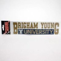Byu Cougars High Performance Decal - Byu Cougars Over University