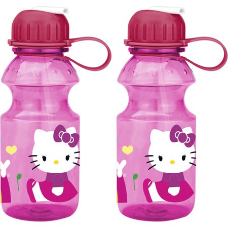 Zak  2 Piece Hello Kitty 14 Oz Tritan Sport Bottle Set