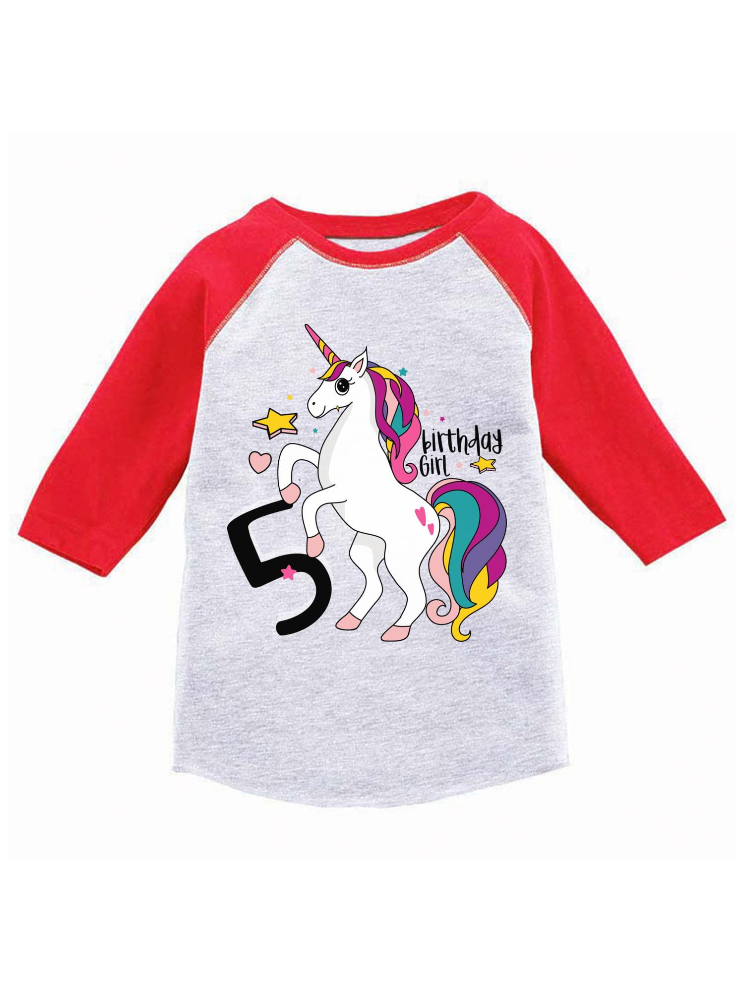 Awkward Styles My 3rd Birthday Long Sleeve Shirt 3 Years Old 3T Birthday Rainbow Toddler T-Shirt 4T