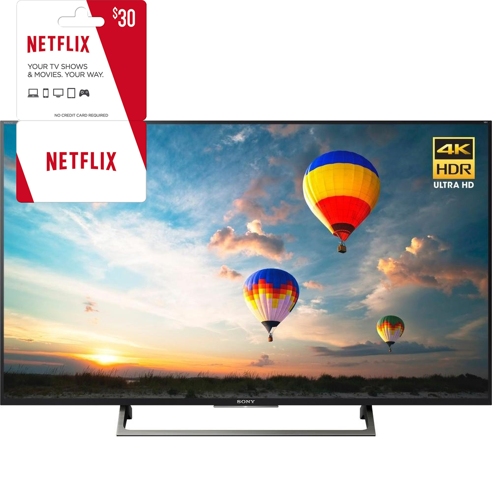Sony XBR-55X800E 55-inch 4K HDR Ultra HD Smart LED TV (2017