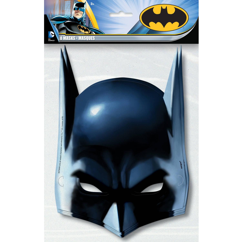 Batman Party Masks, 8ct