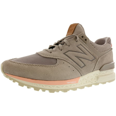 New Balance Ws574 Leather Fashion Sneaker - 8.5M - (New Balance Track Shoes)