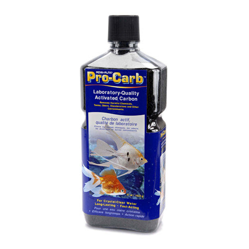 Penn Plax Pro-Carb Activated Carbon Crystals for Aquarium, Medium, 28-Ounce