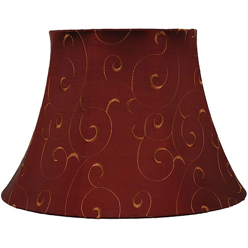 Better Homes and Gardens Red With Gold Bell Table Shade