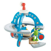Hape E3006 Wooden UFO Space Ship Toy Play Set with Alien Friend & Control Pad