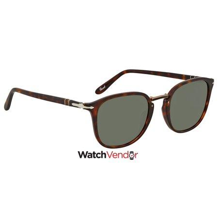 c16a6bea48 Persol Green Square 51 mm Sunglasses PO3186S 24 31 51 - image 1 of 3 ...