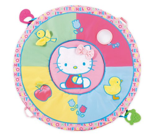 International Playthings Hello Kitty Baby Tummy Time Play Mat (Discontinued by Manufacturer)