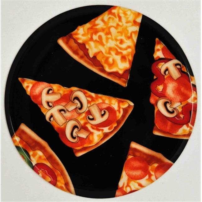 Andreas JO-95 Pizza Round Silicone Mat Jar Opener - Pack of 3 trivets