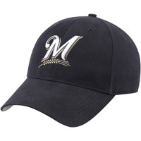 Milwaukee Brewers Fan Favorite Basic Adjustable Hat - Navy - OSFA